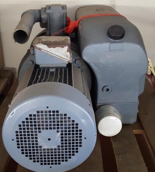 1 x Leroy Drehstrom-Asynchronmotor Typ LS 132MO oberflächengekühlt (1)