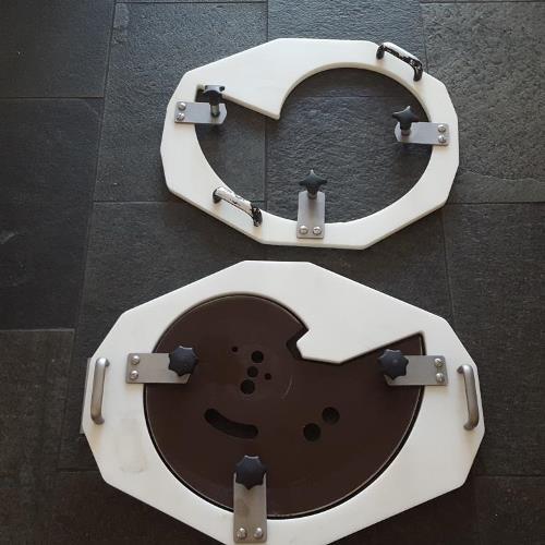 3 Stück Messerschutz gebraucht für Treif Divider