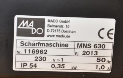 Mado Schleifmaschine (1)